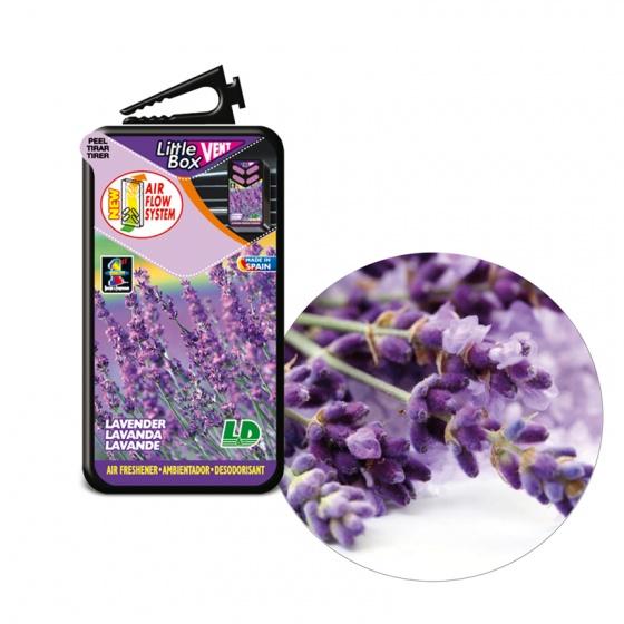 Hộp thơm ghim máy lạnh LD LITTLE BOX Lavender 5ml
