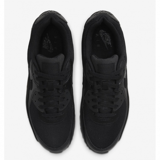 Giày thể thao chính hãng Nike Air Max 90 Triple Black CN8490-003