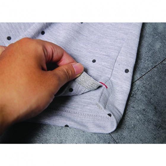 Áo phông nam có cổ polo có họa tiết chấm bi Dokafashion - SBT104