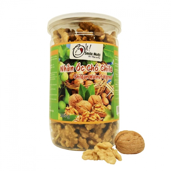 Quả óc chó Chile Smile Nuts hộp 300g