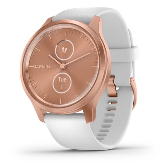 Đồng hồ thông minh Vivomove Style, White - Rose Gold