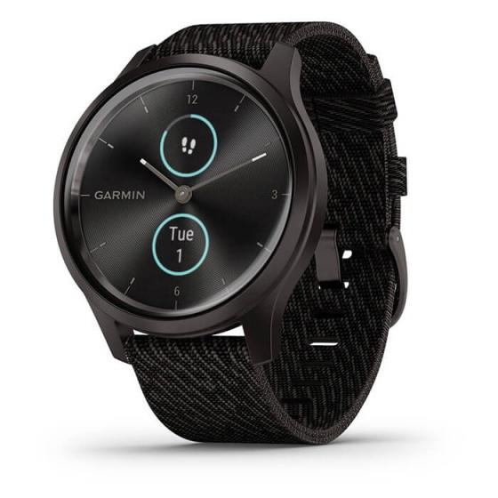 Đồng hồ thông minh Vivomove Style, Black Pepper Nylon - Slate