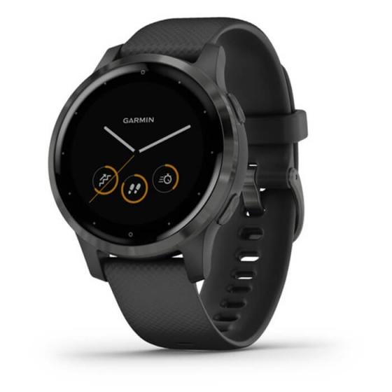 Đồng hồ thông minh Vivoactive 4S, GPS, Wi-Fi, Black - Slate, SEA