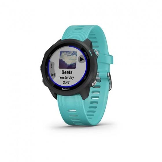 Đồng hồ thông minh Forerunner 245 Music Aqua