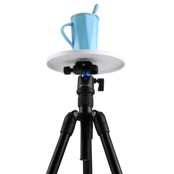 Bàn xoay 360 độ chụp ảnh sản phẩm điều khiển từ xa bằng điện thoại, Gopro, máy ảnh DSLR Aturos Puluz PU364L