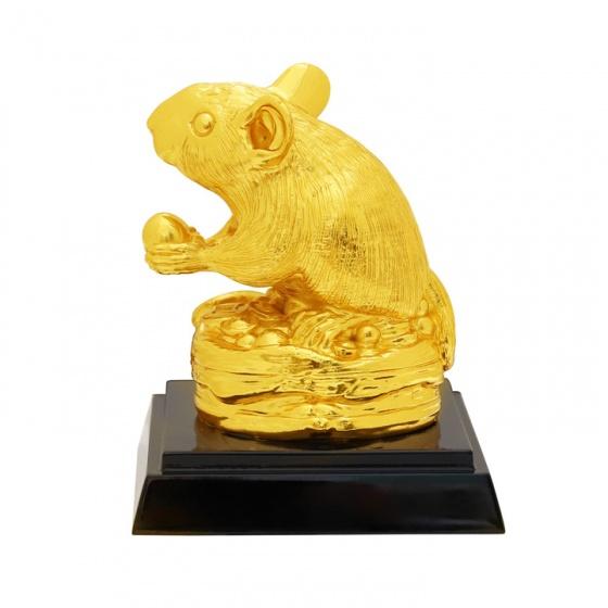 Tượng chuột vàng sung túc