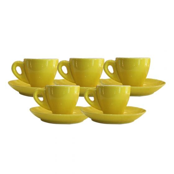 Combo 5 tách cà phê Espresso 80 ml (các màu)