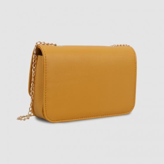 Túi hộp đeo chéo nữ dáng chữ nhật Idigo FB2-254-00