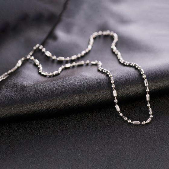 Dây chuyền cổ inox 50cm - Ngọc Quý Gemstones