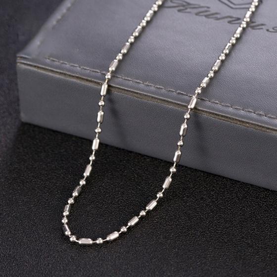 Dây chuyền cổ inox 60cm - Ngọc Quý Gemstones