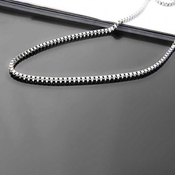 Dây chuyền cổ titan 3mm - Ngọc Quý Gemstones