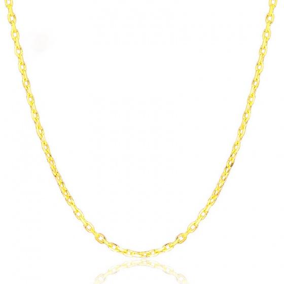 Dây chuyền cổ nữ hợp kim mạ vàng 60cm - Ngọc Quý Gemstones