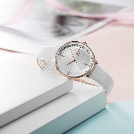 (Siêu sale) Đồng hồ nữ chính hãng Shengke UK K8048L