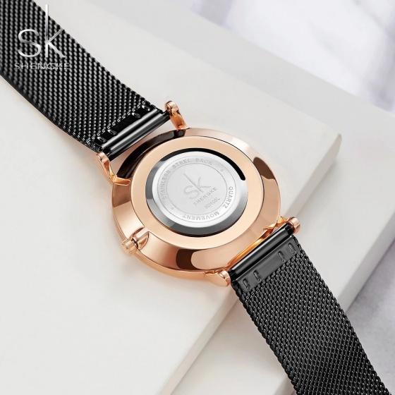 (Siêu sale) Đồng hồ nữ chính hãng Shengke Korea 11K0106L