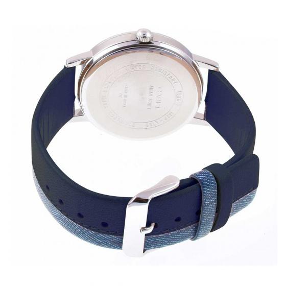 Đồng hồ cặp đôi nam nữ dây da Casio - hàng nhập khẩu
