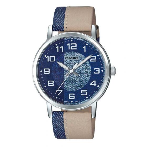 Đồng hồ dây da nam Casio MTP-E159L-2B2DF - hàng nhập khẩu
