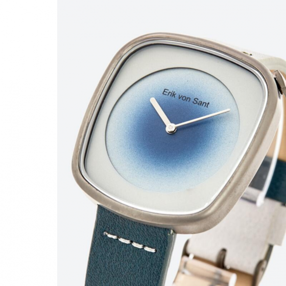 Đồng hồ Unisex Erik Von Sant 004.001.D phong cách smart watch phối dây hai màu