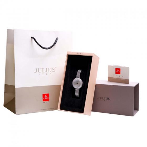 Đồng hồ nữ dây kim loại Hàn Quốc JS-041A bạc
