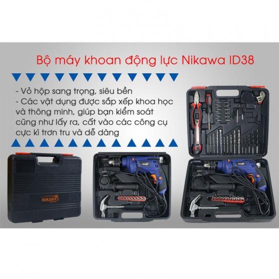 Bộ máy khoan động lực Nikawa NK-ID38