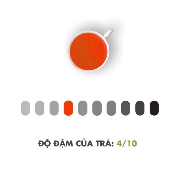 Nguyên diệp hồng trà Dotea gói 100g - chát bùi thanh mát hậu vị ngọt ngào