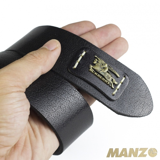 Thắt lưng nam khóa kim da bò nguyên tấm, mặt khóa đúc Manzo145 -bảo hành 1năm -tặng móc khóa,đinh đục lỗ