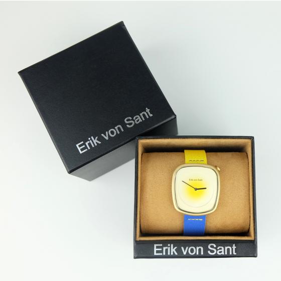 Đồng hồ thời trang unisex Erik von Sant 004.001.C phong cách smart watch phối dây hai màu