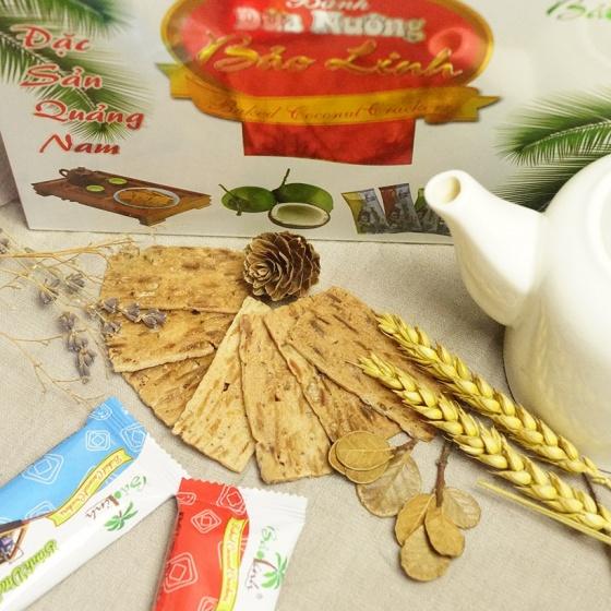 Bánh dừa nướng Bảo Linh - đặc sản Quảng Nam (hộp đẹp 250g)