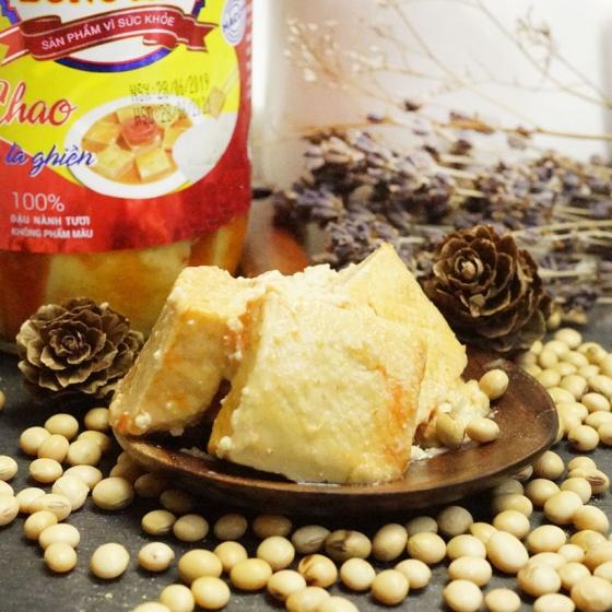 Chao Bông Mai - vị chay thuần Việt (hũ nhựa 250g)
