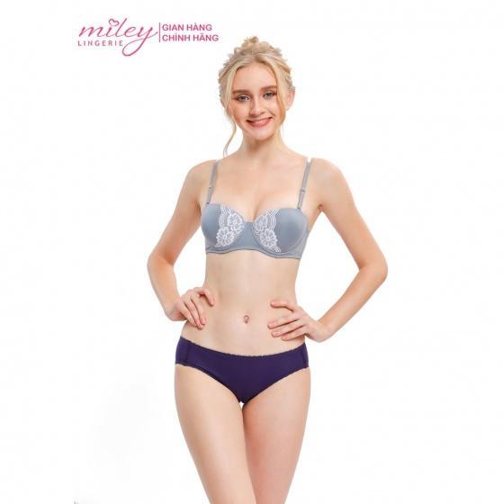 Áo ngực nữ cúp ngang phối gen Miley Lingerie BRM11202