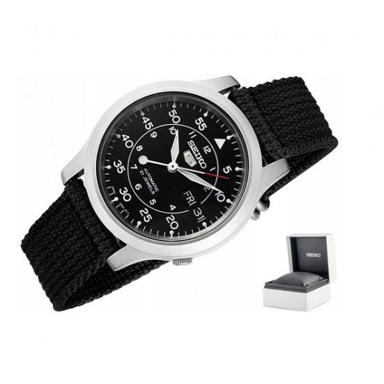 Đồng hồ nam Seiko 5 quân đội SNK809K2S