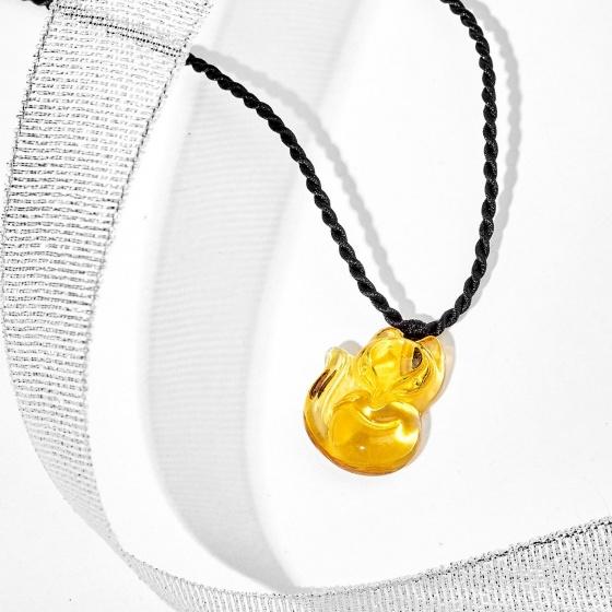 Dây chuyền hồ ly pha lê - Ngọc Quý Gemstones