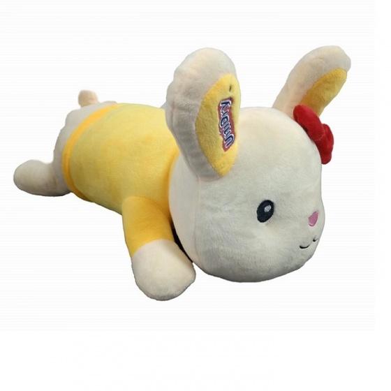 Tặng 1 thú bông con thỏ - combo 2 gói tã dán Unidry size S46 - size XL34