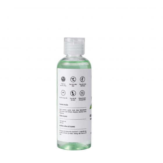Xịt rửa tay bạc hà Milaganics (100ml)