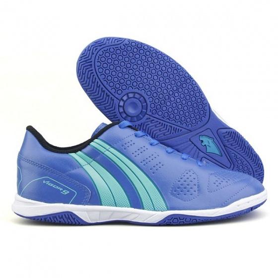Giày đá banh Pan Vigor 9 IC-xanh
