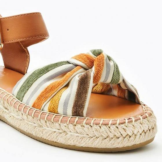 Dép sandal nữ Pazzion 1582-10 - BROWN