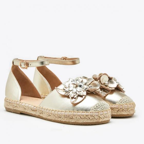 Dép sandal nữ Pazzion 1582-25 - GOLD