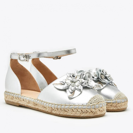 Dép sandal nữ Pazzion 1582-25 - SILVER
