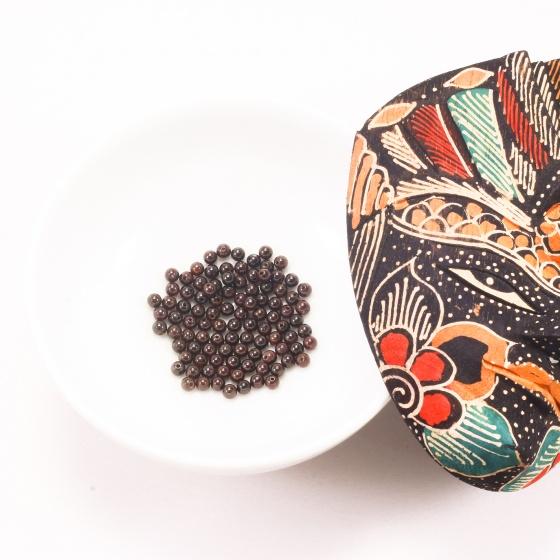 Combo 5 viên đá garnet (ngọc hồng lựu) 4mm - Ngọc Quý Gemstones