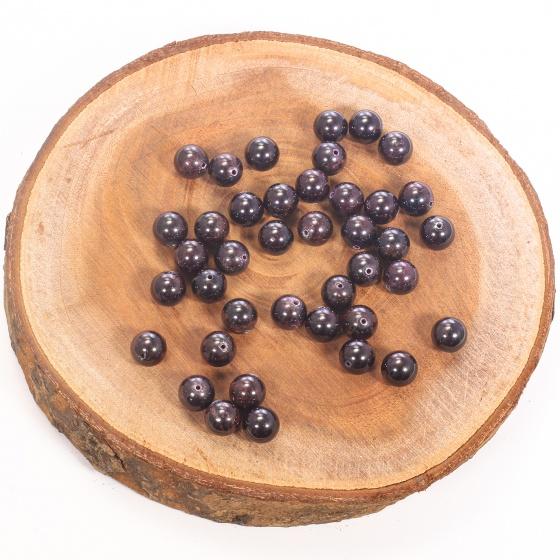 Combo 5 viên đá garnet (ngọc hồng lựu) 10mm - Ngọc Quý Gemstones