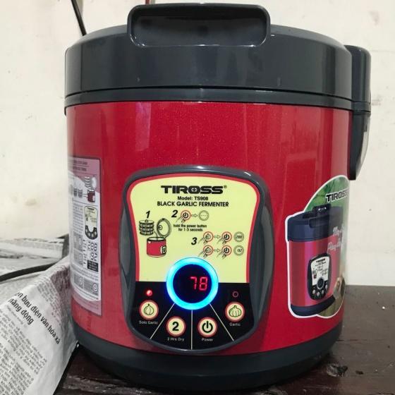 Máy làm tỏi đen gia đình Tiross TS908 (đỏ) - hãng phân phối chính thức