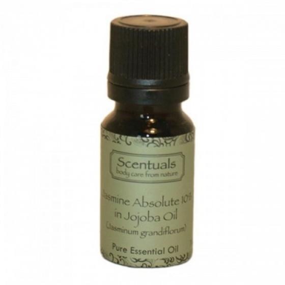 Tinh dầu nguyên chất hoa Lài Jasmine  jojoba oil 10ml Scentuals