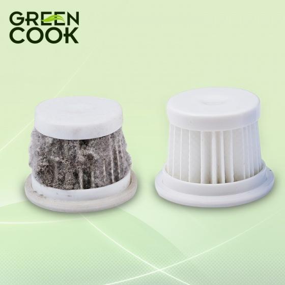 Máy hút bụi tia UV diệt khuẩn cho giường, nệm, sofa bảo vệ sức khỏe GreenCook GCMV01 màu hồng 300W