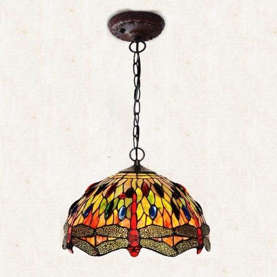 Đèn chùm trang trí Tiffany 1 đầu chao đèn 30cm