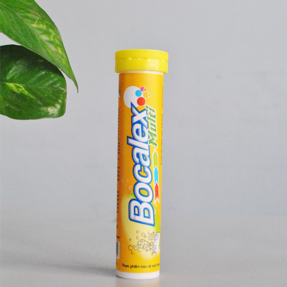 Viên sủi bổ sung vitamin cho cơ thể Bocalex Multi tuýp 20 viên