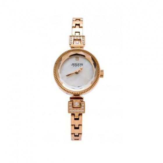 Đồng hồ nữ Julius Hàn Quốc lăng kính 3d ja-981c ju1236 (đồng)