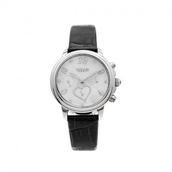 Đồng hồ nữ Julius Hàn Quốc dây da JA-844B JU1016 (đen)