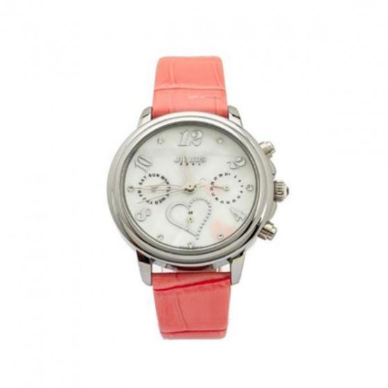 Đồng hồ nữ Julius Hàn Quốc dây da JA-844A JU1016 (hồng)