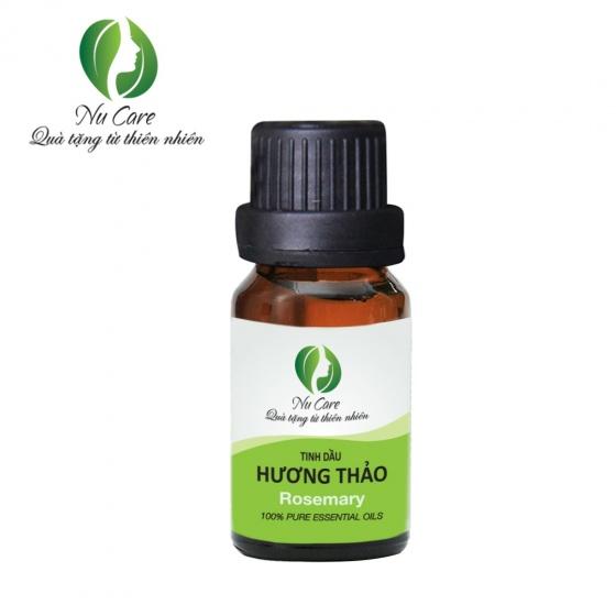 Bộ 3 tinh dầu hương hoa NuCare - Ngọc lan tây + Oải hương Ấn Độ + Hương thảo (10ml x 3)