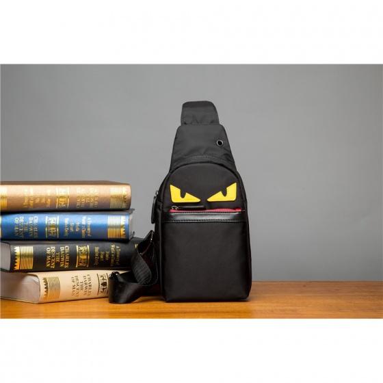 Combo balo laptop thời trang có cổng sạc USB và túi đeo chéo angry birds Praza - BL181DC106