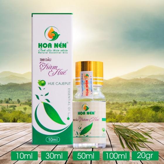 Tinh dầu tràm trà thiên nhiên hàm lượng Cineol 67.5 kháng khuẩn rất cao 10ML hoa nén
